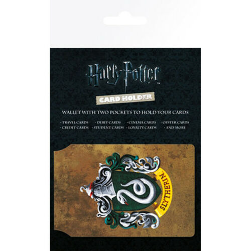 Harry Potter Card Holder Slytherin Oyster Bus Train Officially Product