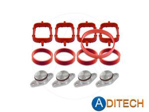 Drallklappen Entfernung Set Swirl Flap Dichtung Ring für BMW 2.0 N47 Diesel