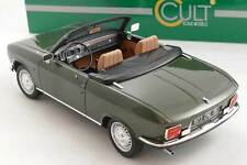 Peugeot 304 S Cabriolet green  - Cult Scale 1:18