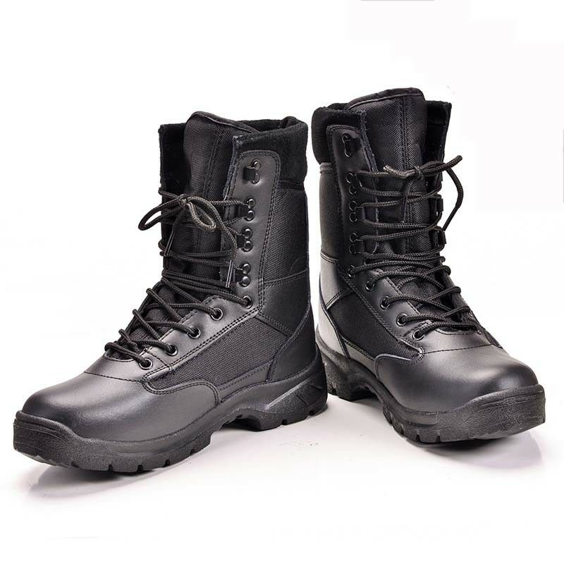 Mens Womens Outdoor Boots Tactical Combat Army Work SWAT Hiking Security shoes