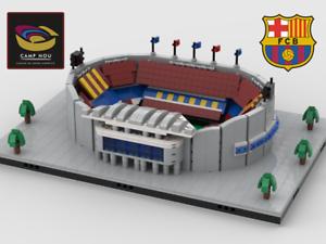 Lego Instructions Camp Nou stadium Building