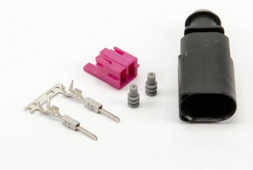 1J0973802 1J0 973 802-2 PIN Macho Conector Kit VW Audi VAG