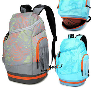 Women-Men-Large-Backpack-Rucksack-15-6-034-Laptop-Basketball-Bag-Sports-Travel-Bag