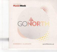 (FR135) Music Week Presents Go North, 12 tracks various artists - 2013 CD