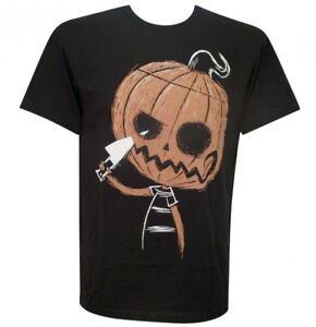 Akumu-Ink-Sinister-Smile-Orange-Pumpkin-Halloween-Horror-Short-Sleeved-Tshirt