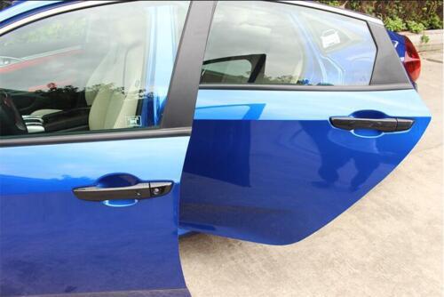 Carbon fiber Door Handle Cover With Smart Hole For Honda Civic Sedan 2016-2018