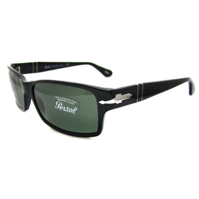 696c3c597d3 Persol 2803 Sunglasses 95 31 Black W  Grey Green Crystal Lenses Po2803s 58mm