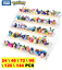 miniature 1 - 144Pcs Different Styles Action Figures Model Collection 2-3cm Toys Dolls Child B
