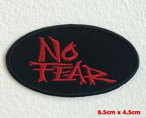 No-Fear-logo-badge-Iron-Sew-on-Embroidered-Patch-applique-1558