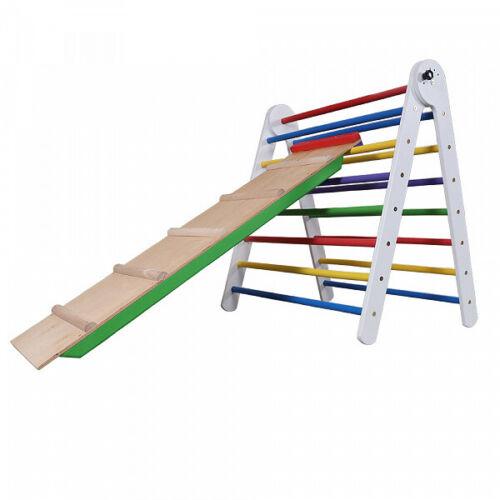 Pickler Triangel Dreieck Spielgeräte Kinder Holz Kletterwand Sportgerät Baby