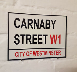 Carnaby Street Reproduction London England Street Sign City of London Sign