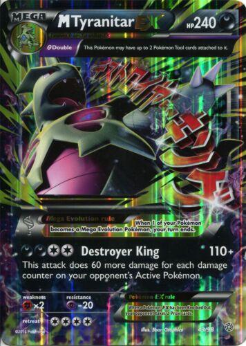 Pokemon Oversize Promo Card 8 x 5.75 Inches 43//98 M Tyranitar EX