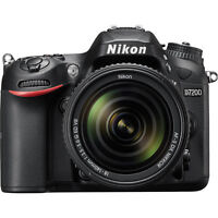 Nikon D7200 24.2MP 4K Ultra HD Digital SLR Camera with 18-140mm VR Lens (Black)