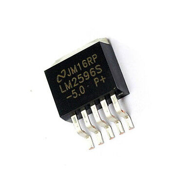 10PCS NSC LM2596S-3.3 LM2596 TO-263 Voltage Regulator IC NEW