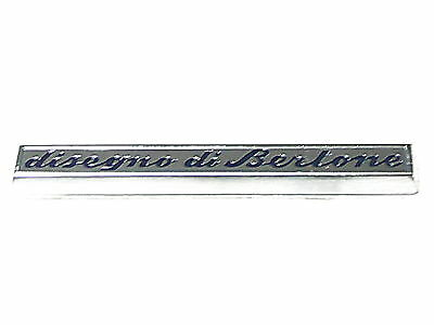 Fregio stemma sigla FIAT DINO 2400 LATERALE DX RH side badge emblem ESCUDO