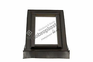 afg 114x140 kunststoff dachfenster skylight eindeckrahmen rolloaktion ebay. Black Bedroom Furniture Sets. Home Design Ideas