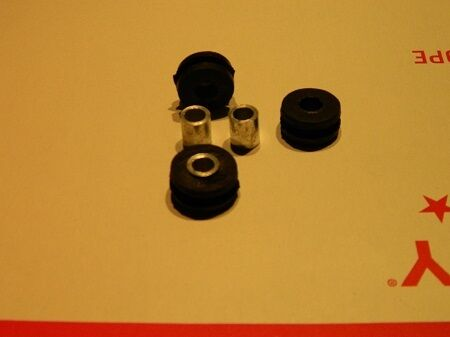 HONDA ct70, z50 mini trail fender bracket rubber grommets with gal insulators