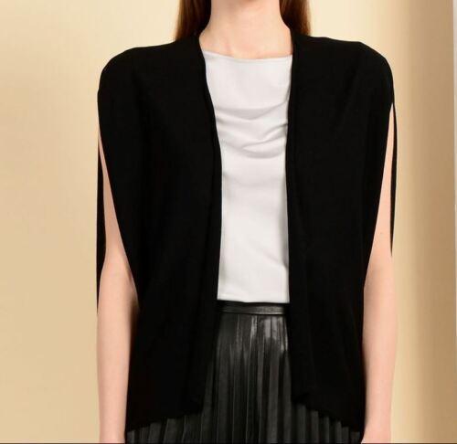 Vest boîte Noir dans 100 Wolford Merino Petit vierge laine Fine la Nouveau 4qwPEO