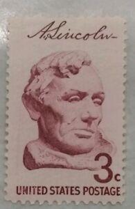 3-Cent-US-Postage-Stamp-Abraham-Lincoln-Single-MNH