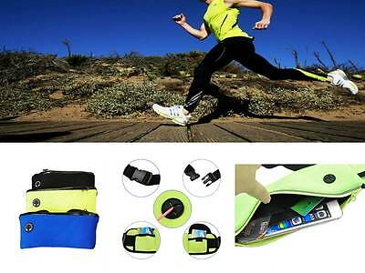 Diplomatico Sports Unisex Cintura Bum Bag Jogging Running Custodia Da Viaggio Mobile Chiave Di Denaro-