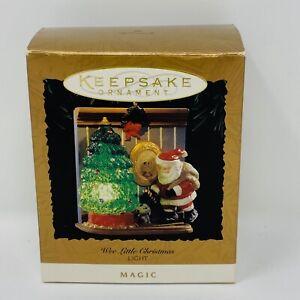 Hallmark-Keepsake-1995-Wee-Little-Christmas-Light-Magic-Ornament-Lighted-Santa