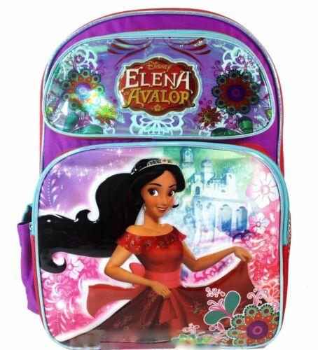 "Disney Princess Elena of Avalor Large 16/"" Backpack-3221"