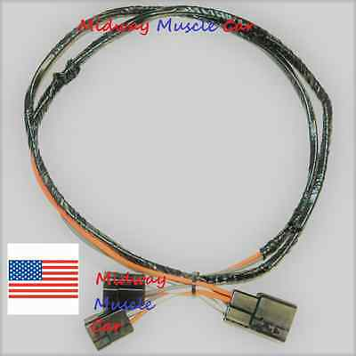 F85 Console Harness Auto Trans Or 4-Speed Trans 1971-72 Cutlass