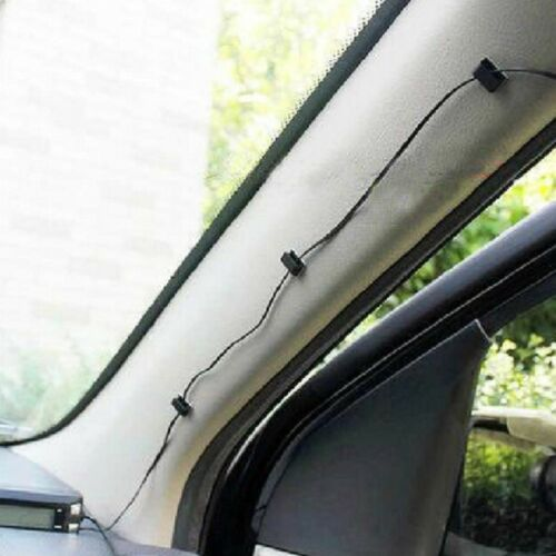 Cable Holder House Office Car Wire Cord Cable Data Holder Mount Tidy Hook Sticky