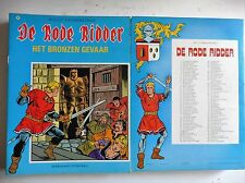 De rode ridder nr 98  EERSTE Druk ongekleurd  1982
