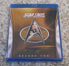 NEW Star Trek The Next Generation Complete Season 2 (Blu-ray Set) 2nd TNG Sealed