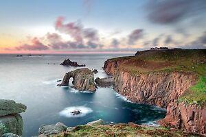 Landscape-Photography-Print-Enys-Dodnan-Arch-Lands-End-Cornwall