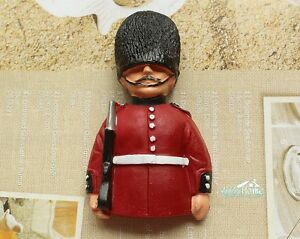 United Kingdom Royal Guards Tourist Travel Souvenir 3D Resin Fridge Magnet Craft