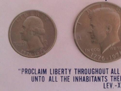 COIN SET// USA BICENTENNIAL 1776-1976 1976 Collectible 3 PC