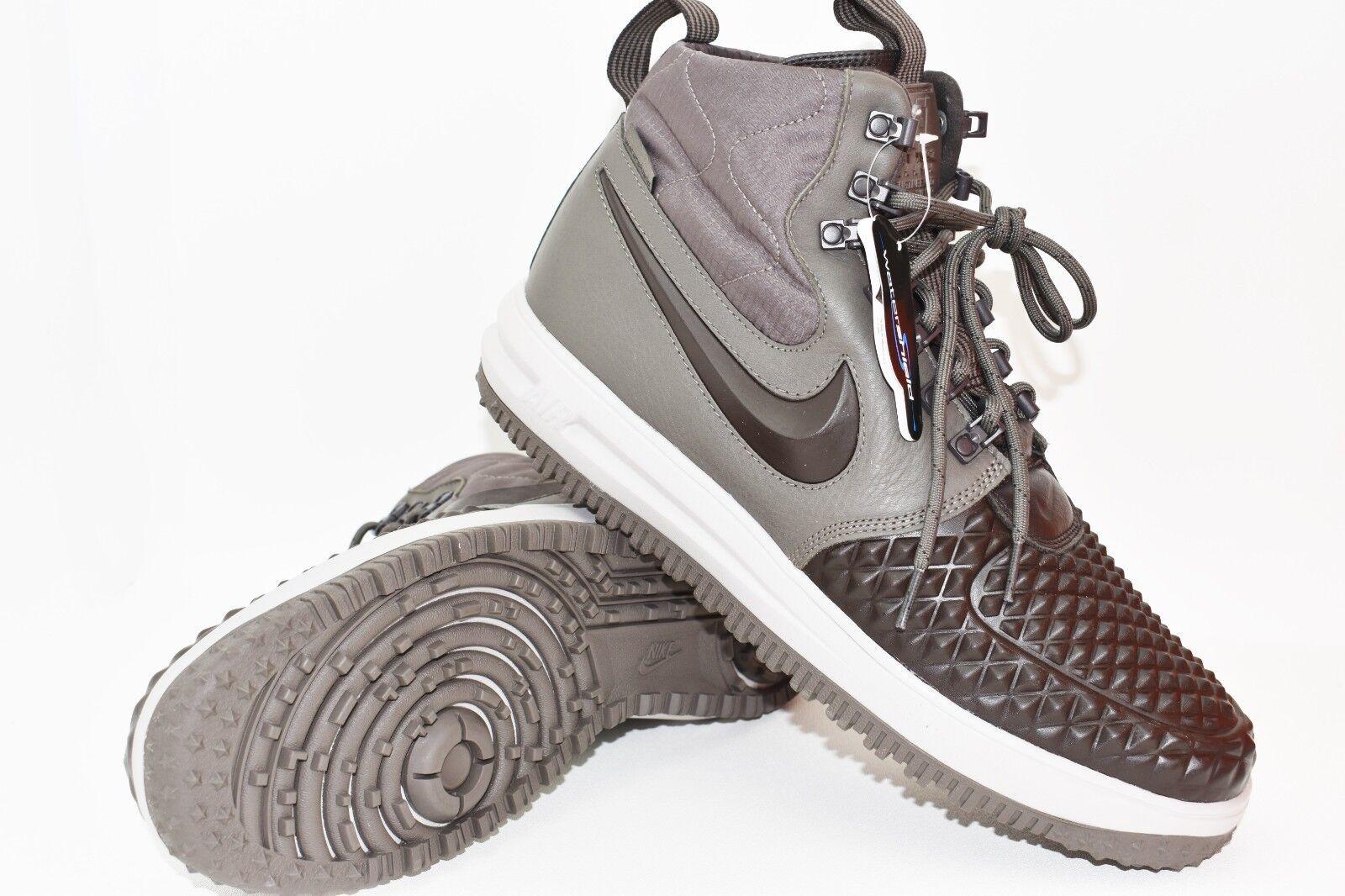 New Nike LF1 Duckboot '17 Size US 9 Ridgerock Velvet Brown Men 916682 203