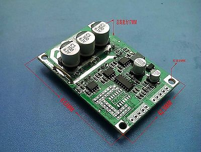 DC 12V 24V 36V 500W Brushless Motor Controller Hall Balanced Car Driver Board