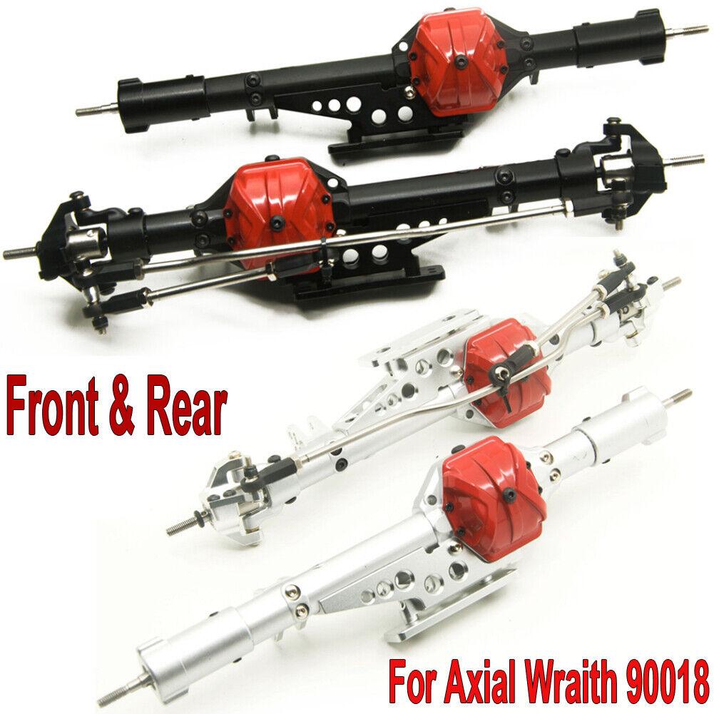 CNC davanti & Rear Axle Assembled SET  For 1 10 Axial Wraith 90018 90020 RC Crawler  spedizione e scambi gratuiti.