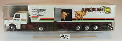 1//87 Herpa Scania 142 M Sandstede Koffer-Hängerzug