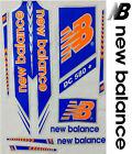 New Balance Blue Orange World Cup 2017 English cricket bat sticker.Steve Smith