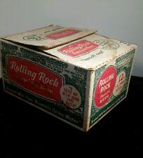 *VINTAGE* ROLLING ROCK. 12 7oz. BOTTLES IN ORIGINAL CASE !!!
