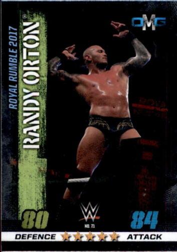 10th Edition OMG WWE Slam Attax 71 Nr Randy Orton