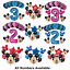 Disney-Mickey-Minnie-Mouse-Birthday-Foil-Latex-Balloons-Blue-Pink-Number-Sets thumbnail 1
