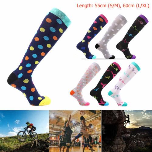 Compression Socks 20-30 mmHg for Running Athletic Sports Crossfit Flight Travel