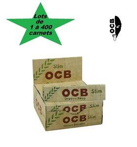 OCB-Slim-chanvre-bio-lots-de-1-a-400-carnets-de-feuilles-a-rouler-grande-taille