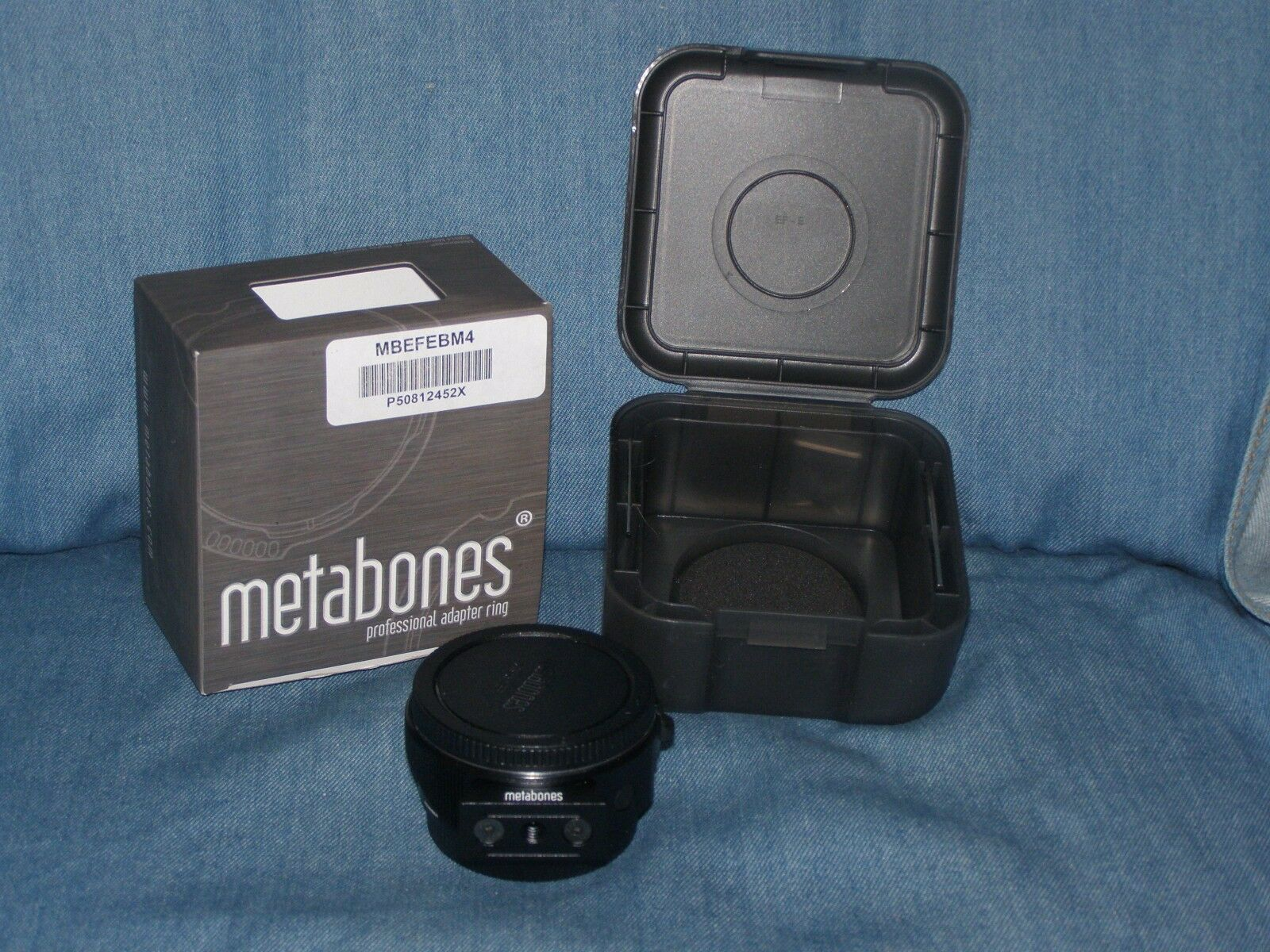 Metabones T Smart Adapter Mark IV for Canon EF or Ef-s to Sony E-mount
