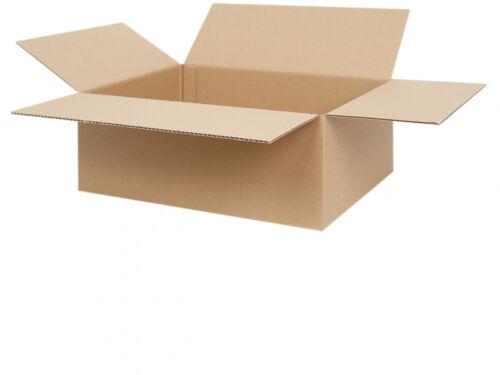 100 Faltkartons 400 x 300 x 150 mm Versandkartons Faltschachteln Falt-Karton