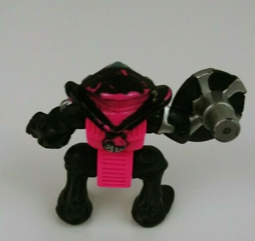 Vintage 1993 Z-Bots Micro Machines BUZZSAW Figure GALOOB Burger King