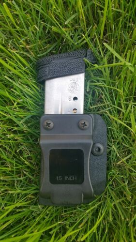 SW M/&P Shield 9//40 IWB//OWB Kydex mag pouch//Holster with Retention Adjustment