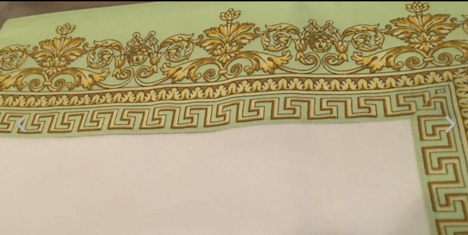 Versace Napperon Ensemble De 2 Medusa Baroque prestige neuf dans sac à poussière Sold Out Rare