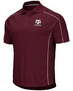 Texas-A-amp-M-Aggies-NCAA-034-Bunker-034-Men-039-s-Performance-Polo-Shirt