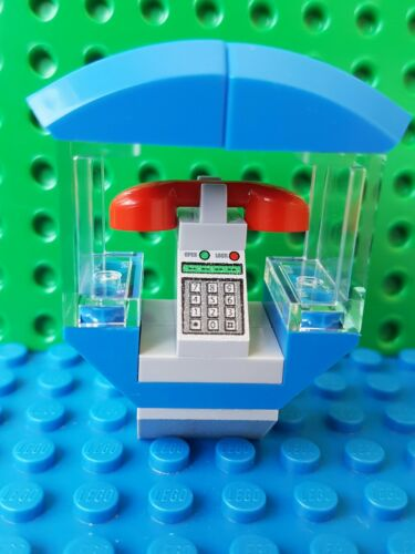LEGO Telephone Booth x1 Spiderman Marvel Fone Cell Peter Parker Super Heroes Web